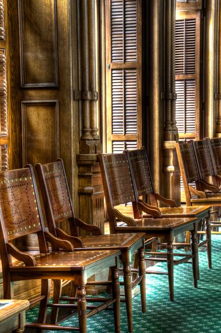 Chairs in the Texas Senate