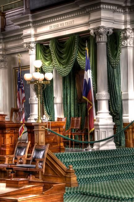 Texas Senate Dais 3
