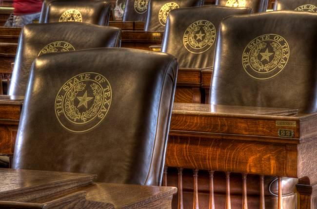 Texas House of Representatives Seats