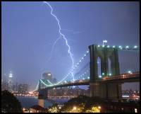 Severe Thunder Storm over New York City