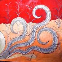 """Minoan Octopus Fresco"" by MinoanAtlantis"