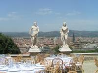 View of Florence from a Terasse in the Boboli Gard