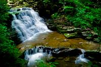 Ricketts Glen Waterfall