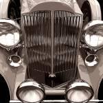 1933 Packard 12 by James Howe
