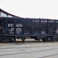 """Lackawanna Coal Mine Car"" by PhotoArt2009"
