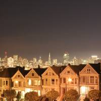 Painted Ladies Art Prints & Posters by obiyann