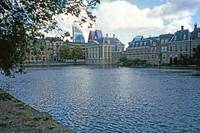 Mauritshuis across Lake Hofvijver, The Hague 13