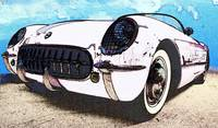1955 Chevrolet Corvette White