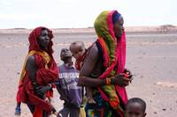 Gabbra women and children of Kenya
