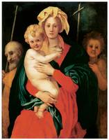 Jacopo Pontormo's The Virgin with Child