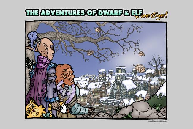 The Adventure of Dwarf and Elf )& Weretiger!(