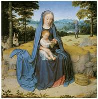 Gerard David's The Rest on the Flight Into Egypt