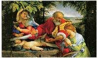 Lorenzo Lotto's Rest During the Flight to Egypt