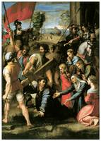 Raphael's Christ Falls on the Way to Calvary
