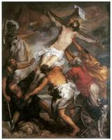 Anthony Van Dyke's The Raising of the Cross