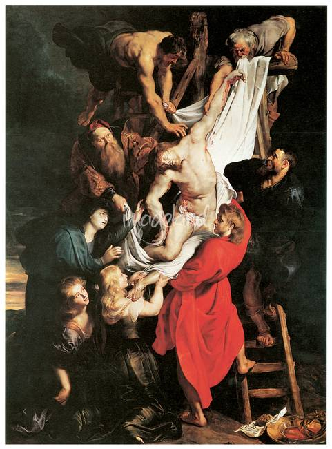 peter paul rubens the descent from the cross by artloversonline