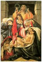 Botticelli's Lamentation over the Dead Christ
