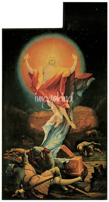 Matthias Grunewald's The Resurrection of Chirst