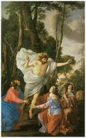 Laurent De La Hyre's Jesus Appearing to the Marys