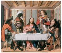 Marco Marziale's The Supper at Emmaus