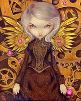 Steampunk Fairy :  Mechanical Angel II