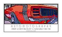 1969 Camaro RS SS Poster