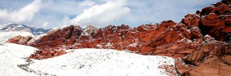 Red Rock Snow, Panoramic No. 2