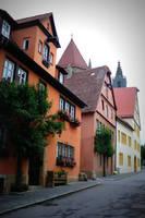 Rothenburg Houses by Carol Groenen