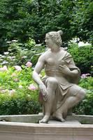Statue of Woman in the Salzburg Garden by Carol Groenen