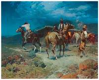 Frank Tenney Johnson's The Pony Express