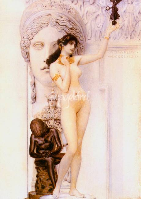 Gustav Klimt's Allegory of Sculpture