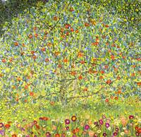 Gustav Klimt's Apple Tree