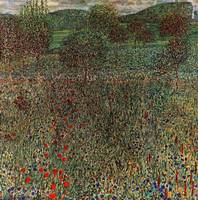 Gustav Klimt's Flowering Field