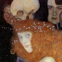 Gustav Klimt's Hope I Detail