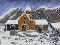 Old Mission in Winter