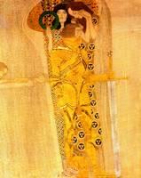 Gustav Klimt's The Beethoven Freize Detail