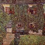 Gustav Klimt's The House of Guardaboschi