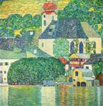 Gustav Klimt's The St Wolfgang Church