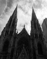 St. Patricks Cathedral New York City Storm