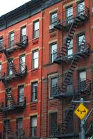 Fire Escapes on Bleecker