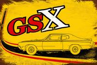 Vintage GSX Tribute Art