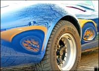 AC Cobra Blue and Yellow