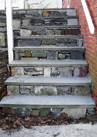 Stairs to the Plague Hpuse 14 x 19.75