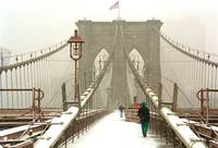 Brooklyn Bridge Path White
