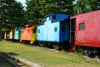 Colorful Trains