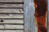 Rusted Weathered Wood
