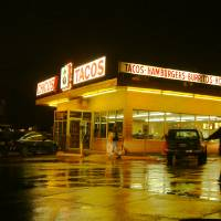 """""""Chicos Tacos by Night  67"""" by KevinDMonaghan"""
