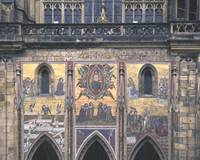 Mural, St. Vitus' Cathedral, Prague