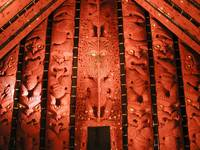 Maori Lodge Carvings