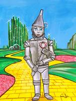 THE TIN MAN FROM THE WIZARD OF OZ Gordon Bruce